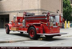 Seagrave Los Angeles Fire Department Emergency Apparatus Fire Truck ...