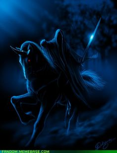 Deligaris' Nazgul (Lord of the Rings). Whoa!