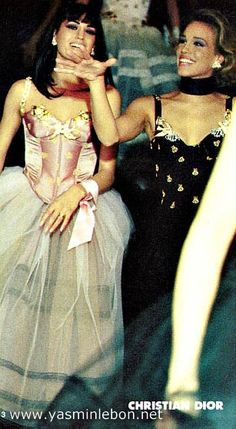 Yasmin Le bon: Christian Dior spring/summer 1992