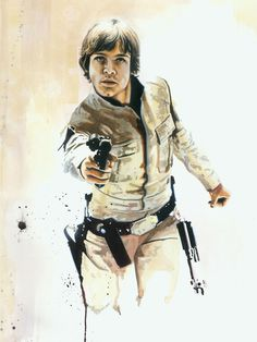 Star Wars Illustrations - by Brian Rood (omg love this)