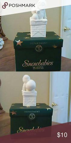 Snow babies Cute box, Dept 56 Dept 56 Accessories