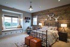 Street of Dreams 2013: TTM Custom Home - contemporary - bedroom - portland - Alan Mascord Design Associates Inc