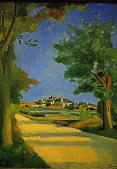 André Derain: La Route, 1932. Musée de l'Orangerie.