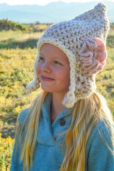 Crochet Hat Pattern: Earflap Hats for Men Women by AestheticNest