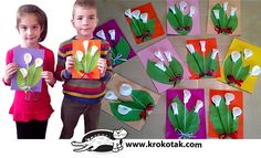 DIY calla lilly with drinking straws, cotton buds, and cotton Preschool Crafts, Easter Crafts, Fun Crafts, Diy And Crafts, Crafts For Kids, Straw Projects, Grade 1 Art, Calla Lillies, Sunday School Crafts