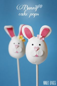 Bunny Cake Pops- 18 Delicious Easter Dessert Recipes