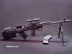 SKS, 7.62X39, with Rifletech bullpup kit