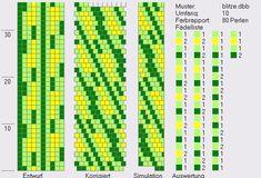 Schlauchketten häkeln - Musterbibliothek: blitze