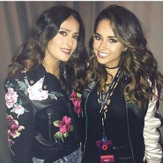 All Your Favorite Stars Were at the Global Citizen Festival This Weekend When Becky G and Salma Hayek Showed Each Other Some Love