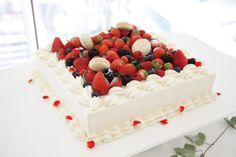 #WeddingCake 当ホテルパティシエお手製のウェディングケーキ実例 Fresh custom-made wedding cake from our Pastry.
