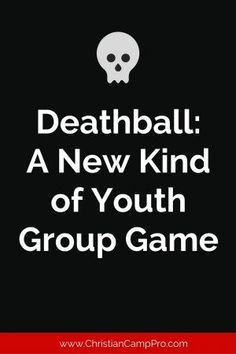 Deathball A New Kind of Youth Group Game is part of Kids Crafts Bible Youth Groups Introduction to Deathball While the origins of the game are a bit murky and not really fully clear, the concept h - Youth Group Rooms, Youth Ministry Games, Youth Group Activities, Games For Youth Groups, Ministry Ideas, Church Activities, Youth Group Events, Small Group Games, Mutual Activities