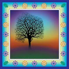 Dawn Tree Greeting Cards