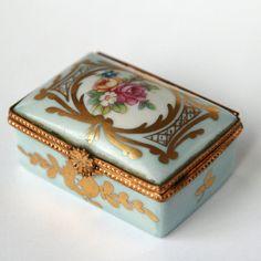 Limoges France trinket box