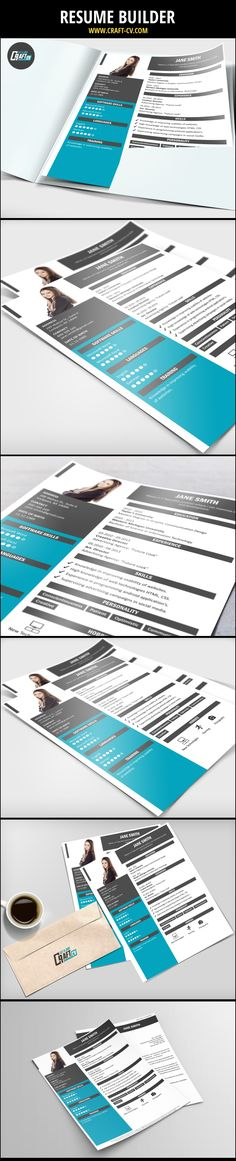 Resume Builder - Creative Resume #resumedesign #resume - creative resume builder