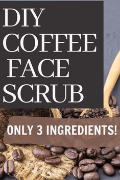 Ever wanted to make a natural exfoliator scrub made out of coffee? Here is a DIY 3-Ingredients coffee scrub for acne to give yourself homemade facials. Made with sugar and coconut oil, this easy yet lush coffee diy recipe will revolutionize your skin care routine #facescrubforacne #3ingredientsfacescrub #CoffeeFaceScrub #facescrubrecipe #beautycare Face Scrub Homemade, Homemade Facials, Homemade Skin Care, Diy Skin Care, Good Shampoo And Conditioner, Face Care Tips, Sugar Scrub Recipe, Natural Exfoliant, Coffee Scrub
