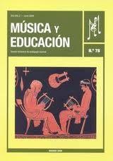 MÚSICA Y EDUCACIÓN : REVISTA DE INVESTIGACIÓN PEDAGÓGICO-MUSICAL