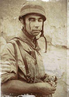 parachutiste allemans à Malème en 1941 CRETE