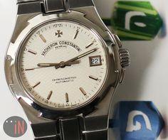 """Holiday Spirit Continues!"" #VacheronConstantin 37mm Overseas Chronometer Ref#: 4204/423a-8872  ($6,750.00 USD) http://www.elementintime.com/Vacheron-Constantin-Overseas-42042-Stainless-Steel-Sku-8959"