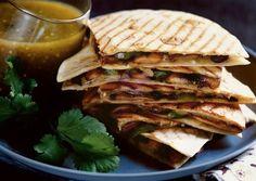 Mushroom-Manchego Quesadillas Recipe – Vegetarian