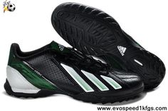 new concept aa0bb 3ca46 Wholesale Cheap adidas TRX TF Football Boots Messi 7 - Black White Green  Soccer Boots On Sale