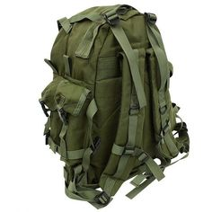 Heavyweight Denier Top Carry Handle Padded Shoulder Straps And Waist Belt Hydration System Compatible Internal Secure System Material Specs: 600D Polyester Dimensions: 20 x 13.5 x 7