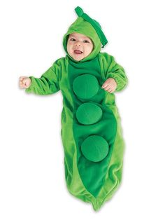 """The Pod Squad. Let your """"sweet pea"""" dress up as a pea pod! #halloween #kidscostumes"""