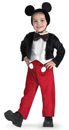 Mickey Mouse Costume for Boys