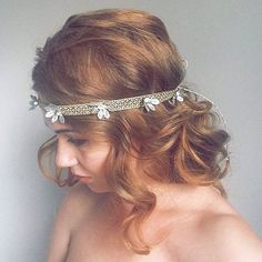 New Year Gold Shimmery Headband  -  Christmas Art Deco Gatsby Party - Sparkle Gold New Eve Headband