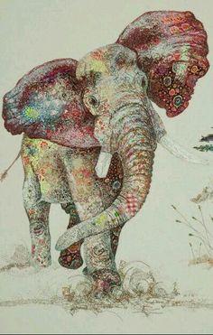 Art or elephant ????