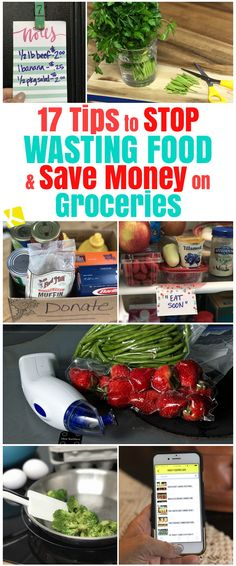 Read our best tips that'll help you stop wasting food and save money on groceries.