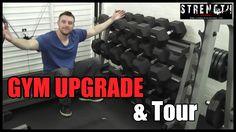 Upgrading My Home Garage Gym | Gym Tour