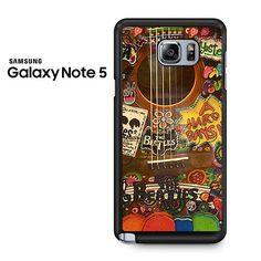 Guitar The Beatles Samsung Galaxy Note 5 Case