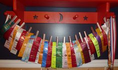 for swim ribbons Trophy Display, Award Display, Display Medals, Sports Art, Kids Sports, Swim Ribbons, Gymnastics Room, Horse Show Ribbons, Ribbon Display