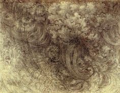 Delugedrawings by Leonardo da Vinci.
