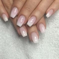 ombre nails french manicure - Google Search by GaleAnn Chudy