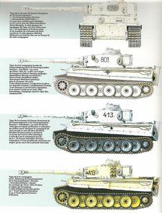 Tigers from all 4 units at Kharkov 1943