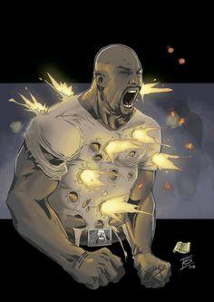 Iron Man 3 The Avengers The Punisher Iron Fist Luke Cage . Marvel Dc Comics, Black Marvel Superheroes, Marvel Art, Marvel Heroes, Black Marvel Characters, Marvel Defenders, Comic Book Characters, Comic Book Heroes, Comic Character