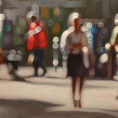 Philip Barlow  Light Space    Oil on canvas, 50 x 75cm