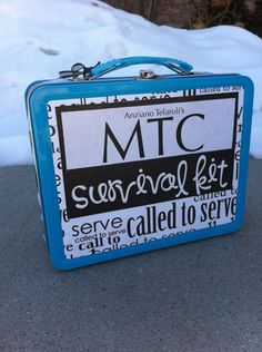 """A MUST HAVE package for ANY missionary!        """"MTC SURVIVAL KIT!"""""""