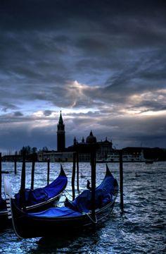 Twilight ~ Venice, I share moments