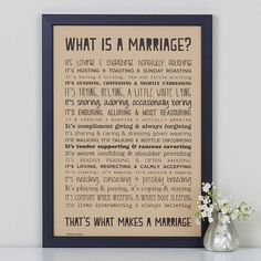 Wedding Quotes : Picture Description 'What is a Marriage? Wedding Ceremony Readings, Wedding Vow Art, Wedding Poems, Wedding Favors, Our Wedding, Wedding Readings Unique, Wedding Sayings, Funny Wedding Vows, Wedding Week