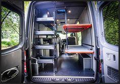 Custom Sprinter Camper Beds Transit Cargo Van Conversion