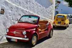 Fiat 500 Jolly and 1971 Fiat 500