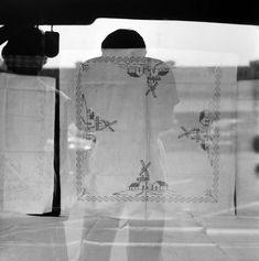 Saul Leiter. Self Portrait with Barbara c.1948 S)