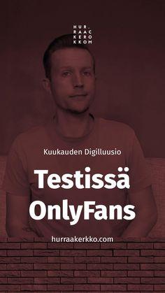 Mikä on kohuttu OnlyFans-palvelu ja miten sitä käytetään? Lue uusin Digilluusio. Pop, Movies, Movie Posters, Fictional Characters, 2016 Movies, Popular, Pop Music, Film Poster, Films