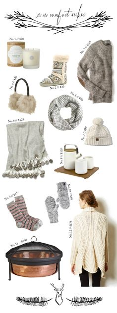 Christmas Gift Guide: For the Comfort Seeker