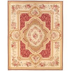 French Market Collection Coco Aubusson Rug