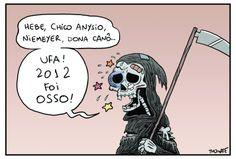 Dona Morte teve trabalho em 2012...