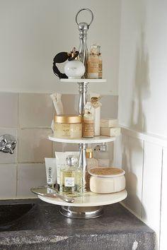 Makeup, bath and body storage ideas