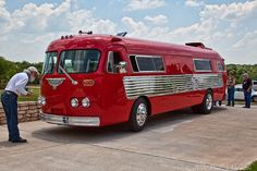 Cool camper bus